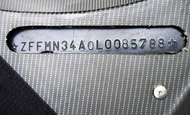 Le numéro VIN est présent sur tous les véhicules. Il vous permet de consulter l'historique d'une voiture. Pratique pour déceler les arnaques ou les véhicules à problèmes.