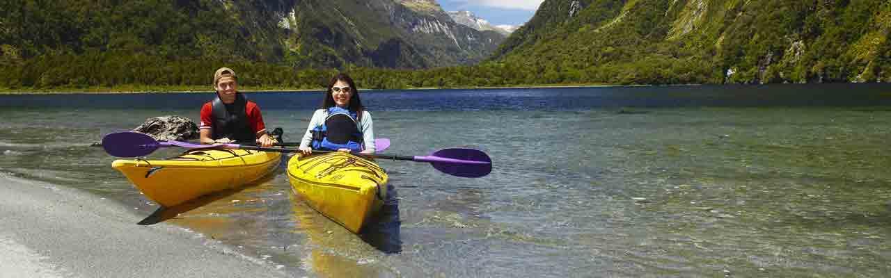 Tous les voyageurs qui visitent la Nouvelle-Zélande peuvent pratiquer des activités sportives ou de loisir.