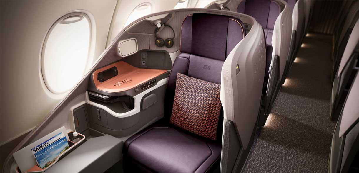 A380 qui décolle pour la Nouvelle-Zélande.