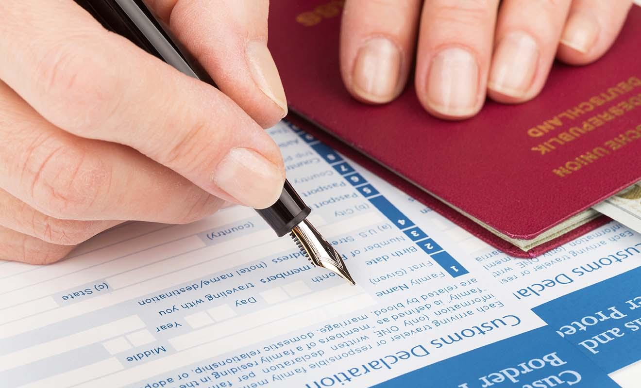 La Passenger Arrival Card permet de déclarer vos affaires et d'expliquer la raison de votre séjour en Nouvelle-Zélande.