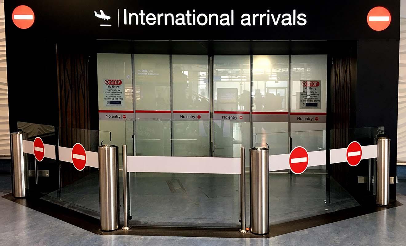 Encore un petit effort et vous pourrez quitter l'aéroport et commencer vos vacances chez les kiwis.