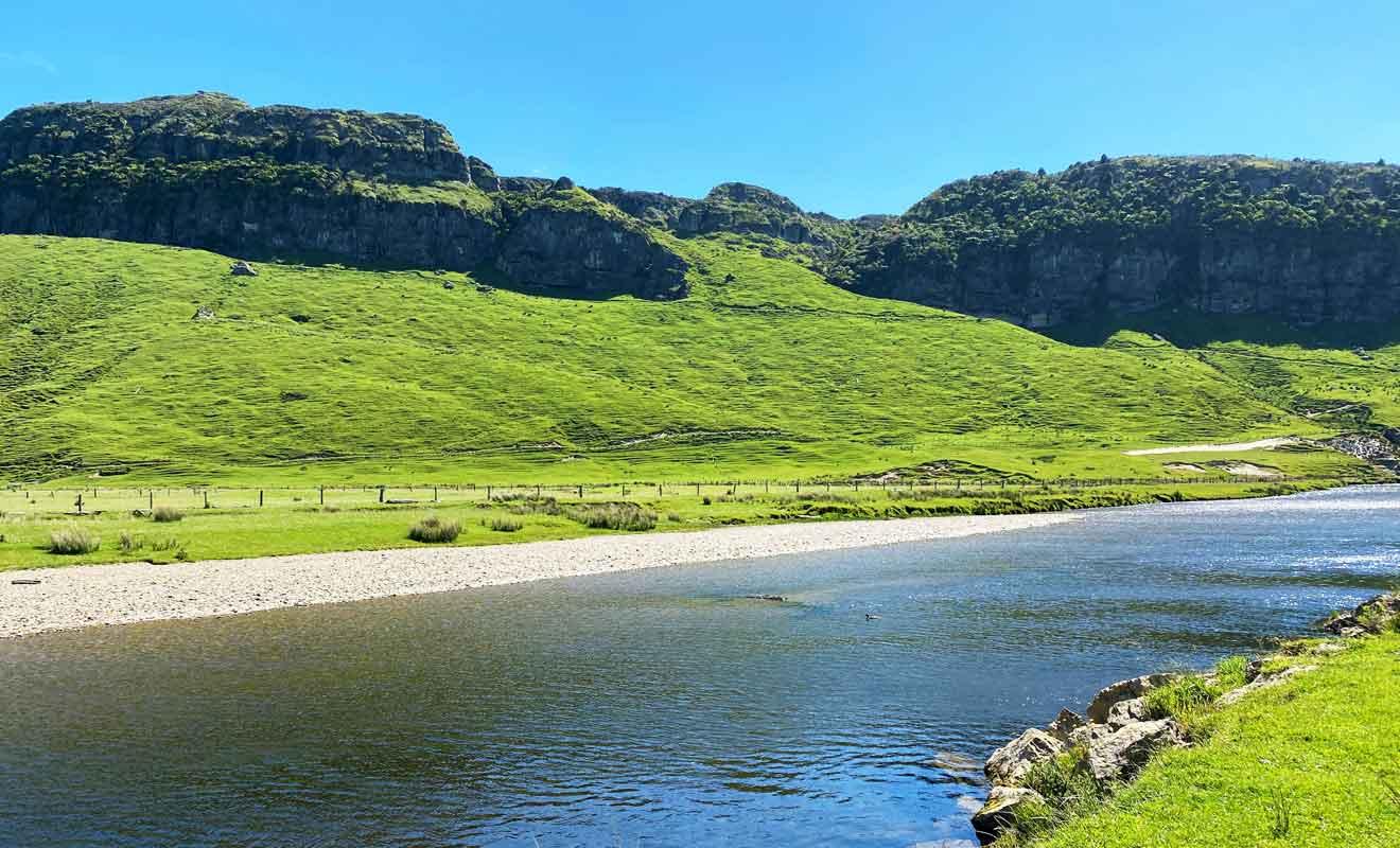 La Nouvelle-Zélande est un fragment du super continent Gondwana.