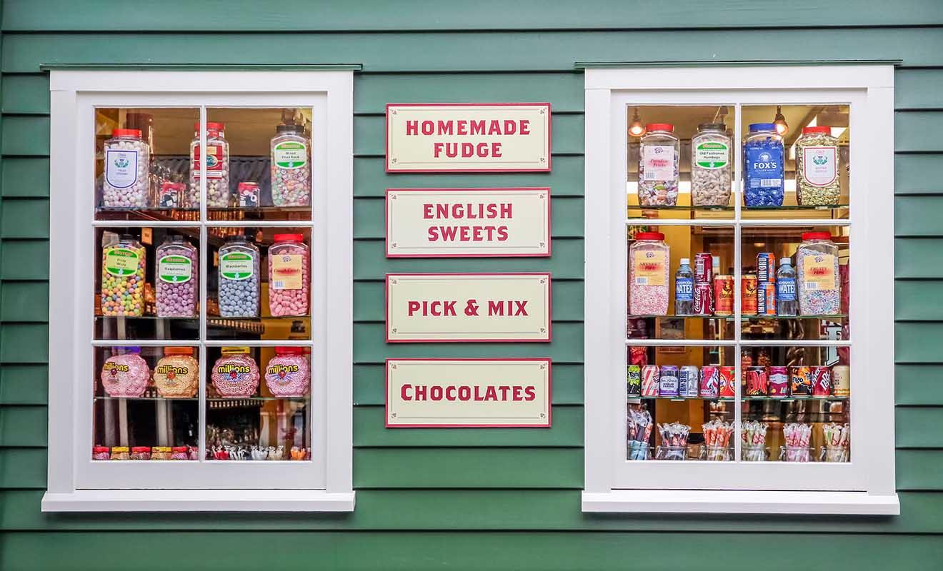 The Remarkables Sweet Shop est une boutique de bonbons installée à Queenstown et à Arrowtown.
