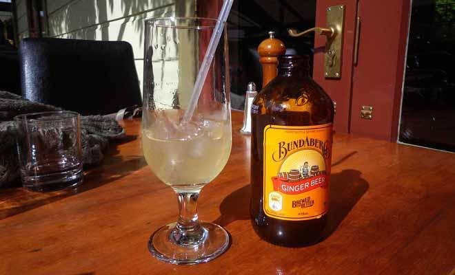 La Bundaberg est une excellente ginger beer comme le Canada dry fabriquée en Australie et vendue en Nouvelle-Zélande aussi.