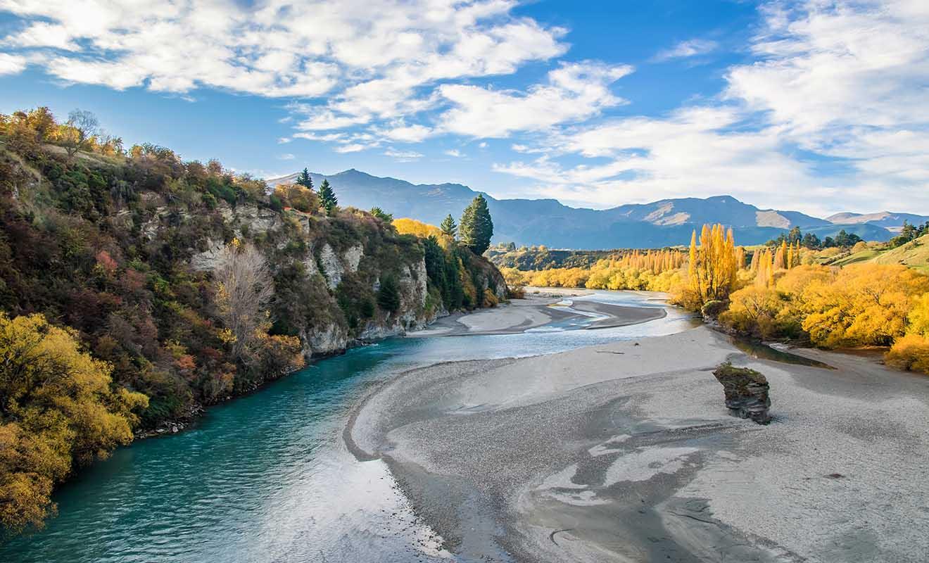 C'est dans cette rivière que l'on trouvait de l'or au siècle dernier.