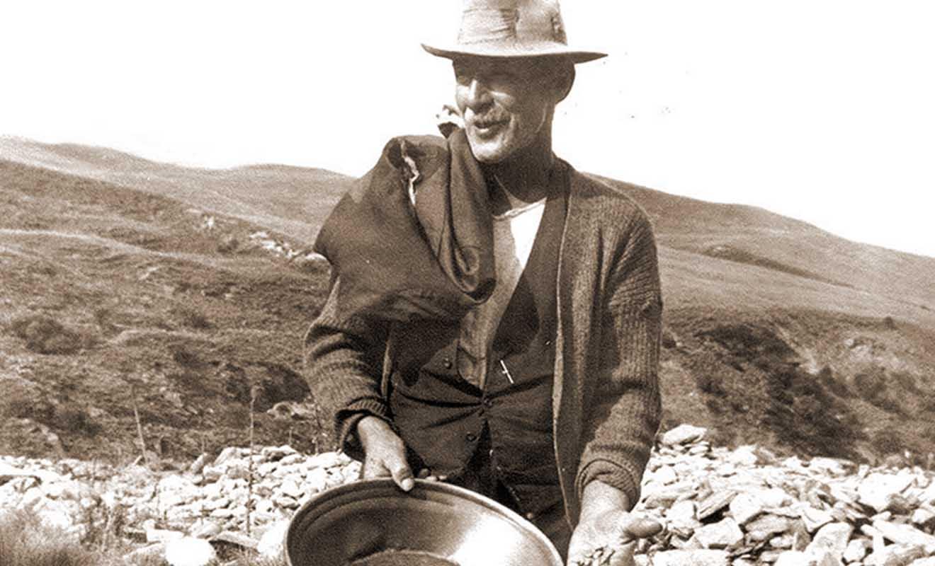 La plupart des prospecteurs n'ont jamais fait fortune et sont morts jeunes après une vie de labeur intense.