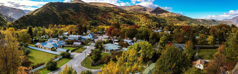 Ancien campement de prospecteurs durant la ruée vers l'or de 1862, Arrowtown est l'un des plus beaux villages de Nouvelle-Zélande.