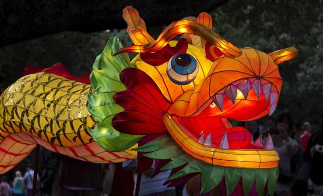 Chaque année, le Nouvel An chinois est célébré dans les rues d'Auckland avec des défilés de danseurs et des lanternes en forme de dragon.