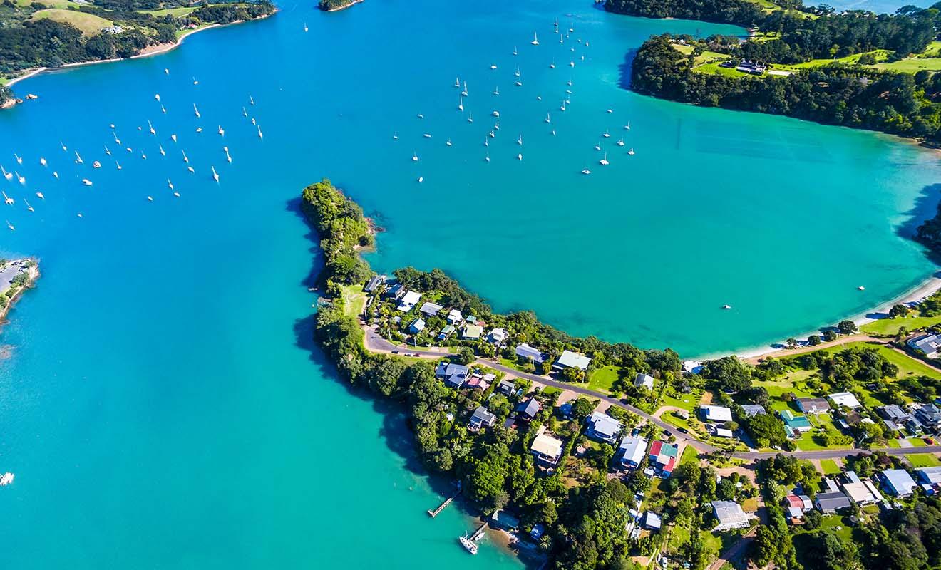 La qualité de vie d'Auckland n'est pas liée à son centre-ville, mais à ses nombreux quartiers qui offrent une atmosphère relaxante.