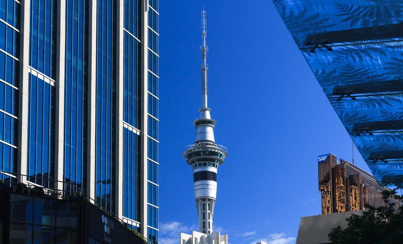 Avec Auckland classée 3e ville la plus agréable du monde, l'économie de la Nouvelle-Zélande se porte bien malgré la crise internationale.