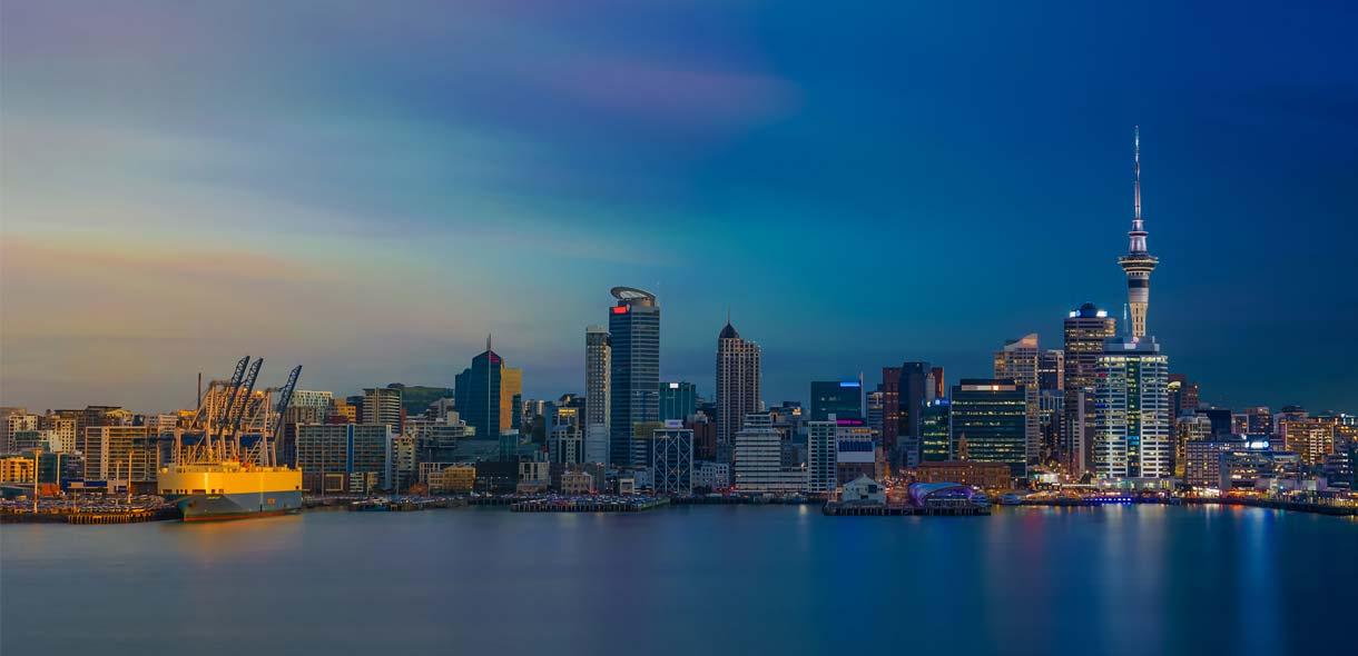 Planifier votre arrivée en NZ pour atterrir de de jour ou de nuit.
