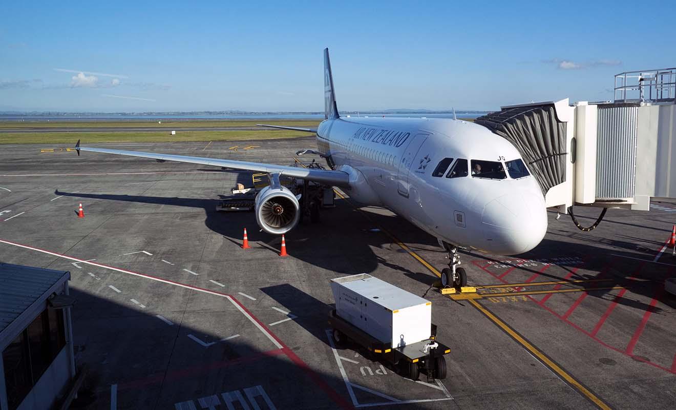 Malheureusement, l'arrivée en Nouvelle-Zélande ne marque pas tout à fait la fin du voyage, et il reste encore des formalités d'aéroport à effectuer.