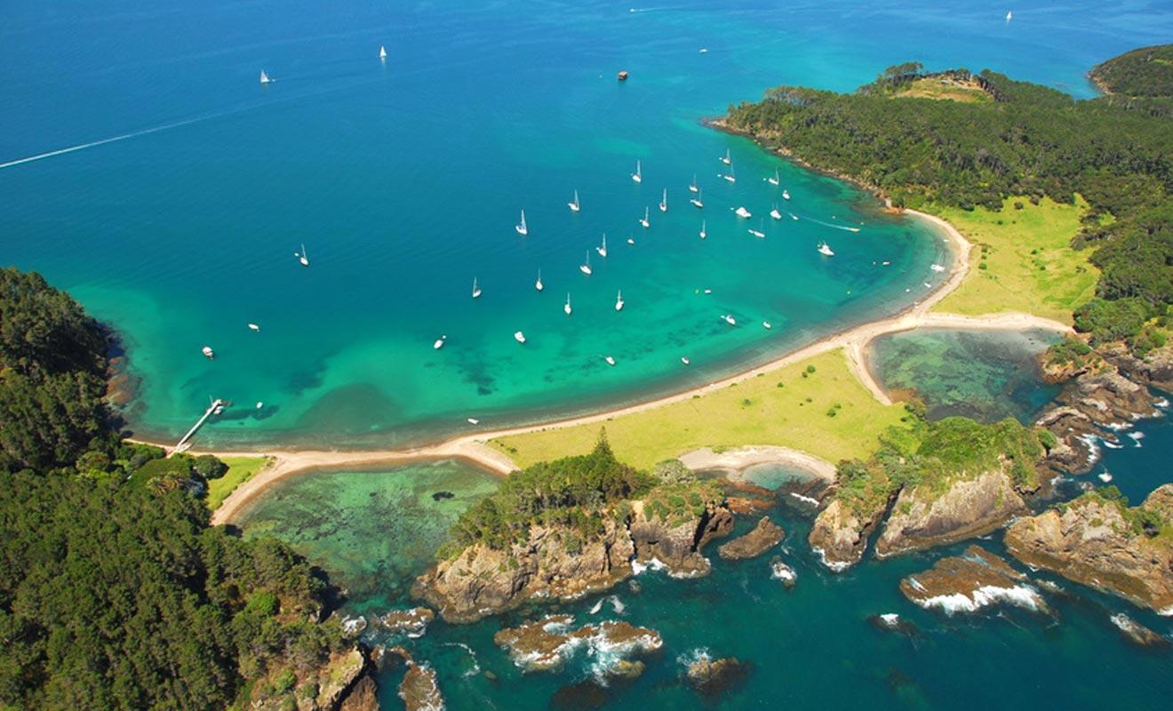 Pour beaucoup, la plus belle île de la baie est celle de Robertson.