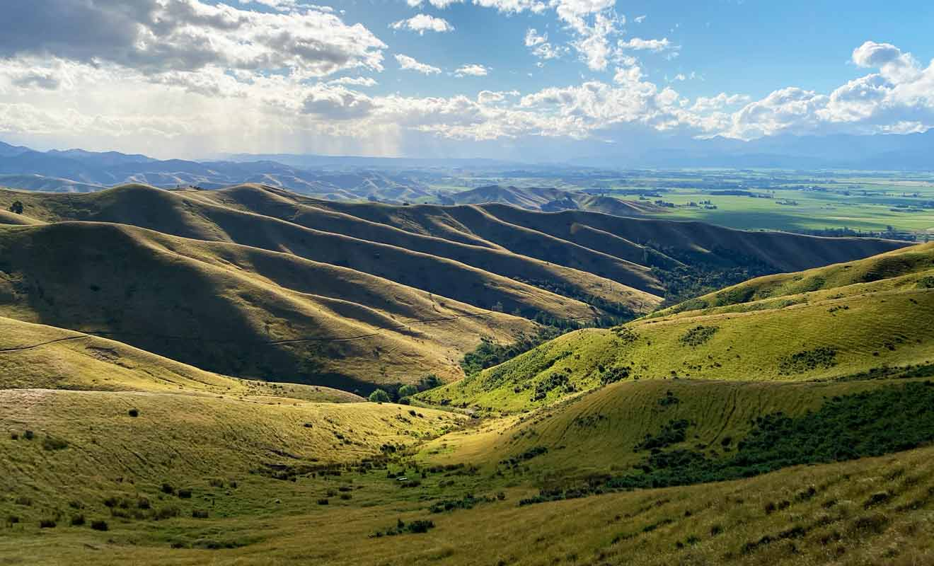 Vous pouvez vous promener rapidement dans le parc, ou réaliser une véritable randonnée de plusieurs heures dans les collines.