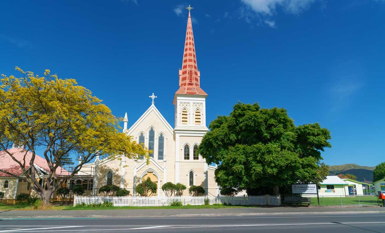 St Mary's Catholic Church est une église catholique réalisée sous la supervision de Thomas Turnbull, l'un des meilleurs architectes de son temps.
