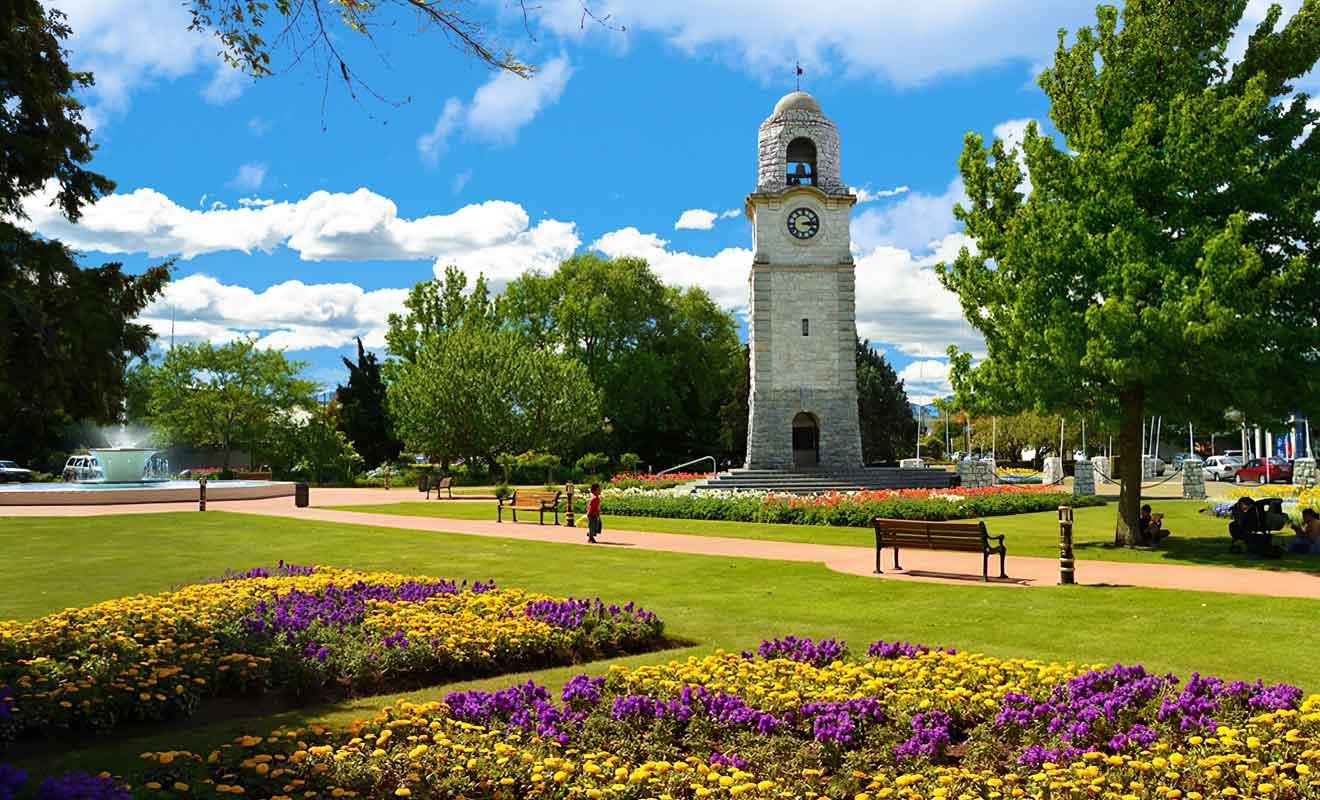 Le War Memorial Clock Tower qui date de 1928 célèbre les morts pour la patrie.