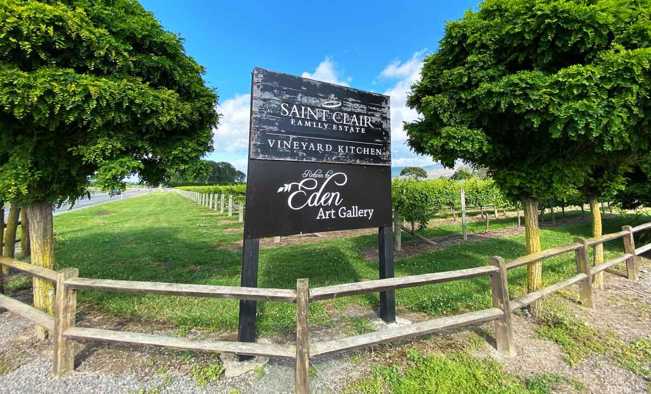 Saint Clair fait partie des premiers vignobles du Marlborough, avec une première cuvée dans les années 1970.