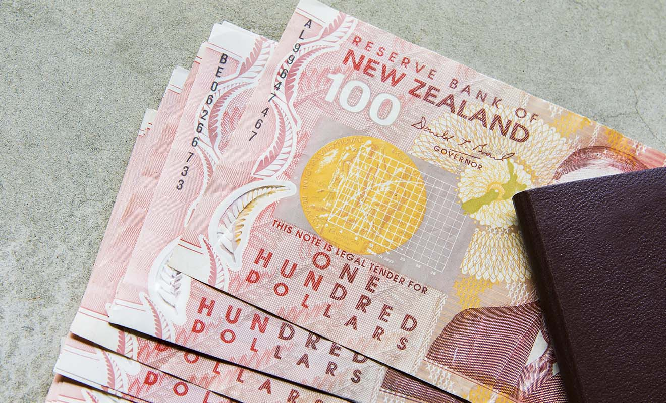 Une des conditions d'entrée sur le territoire néo-zélandais est de disposer d'au moins 1000 dollars de budget par mois de séjour, une somme qui peut être réduit à 400 dollars si vous séjournez chez des amis.