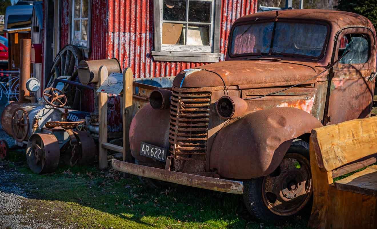 La restauration de vieux modèles est un sport national en Nouvelle-Zélande, car les habitants sont très bricoleurs.