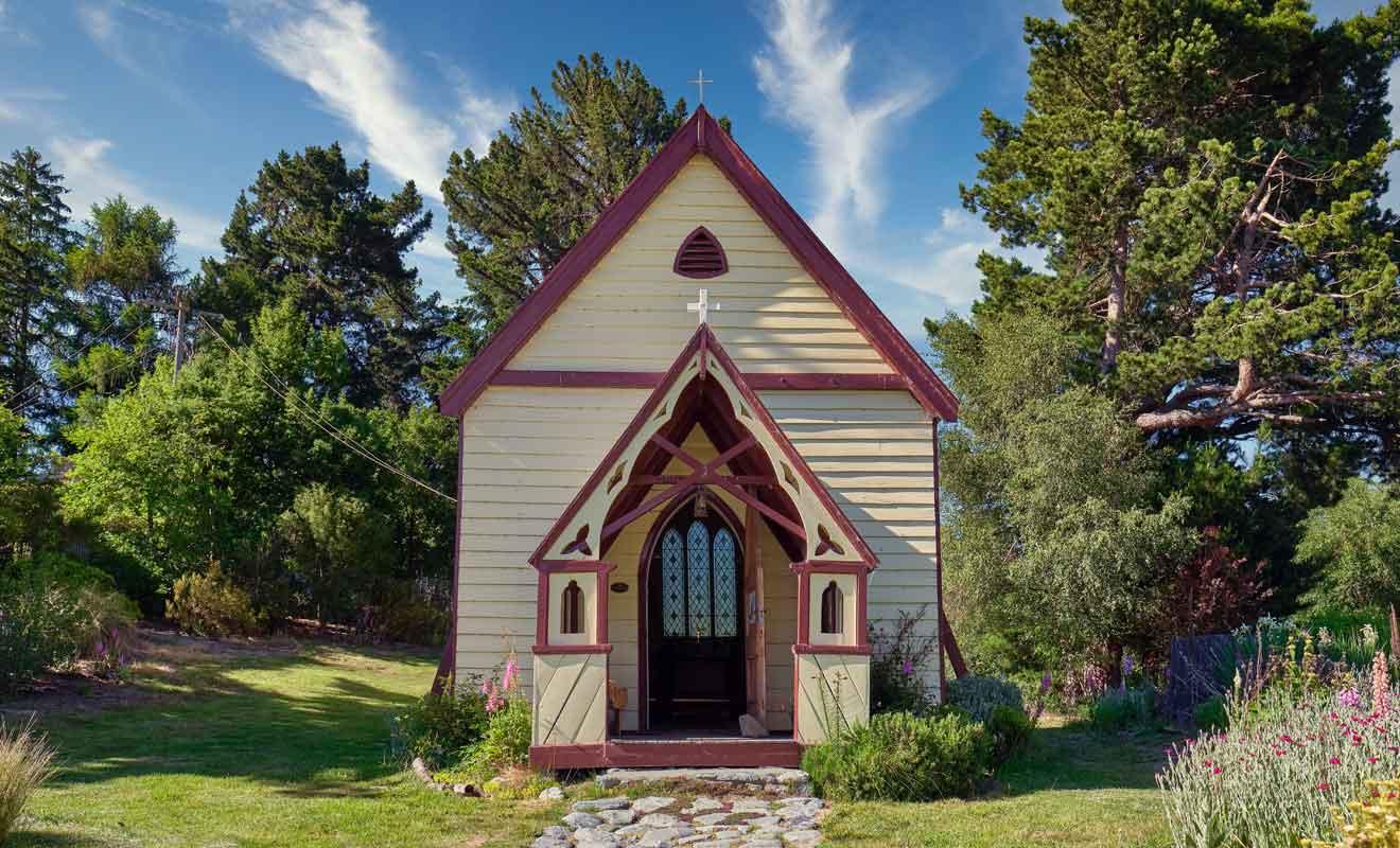 Vous pouvez visiter l'intérieur de la chapelle qui est toujours en service.