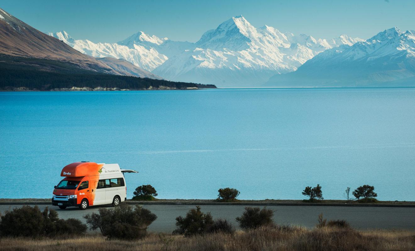 Le principal avantage du camping-car est d'autoriser les changements d'itinéraires durant le séjour en Nouvelle-Zélande. En d'autres termes, il est souvent possible de fuir le mauvais temps en mettant le cap à quelques dizaines de kilomètres.
