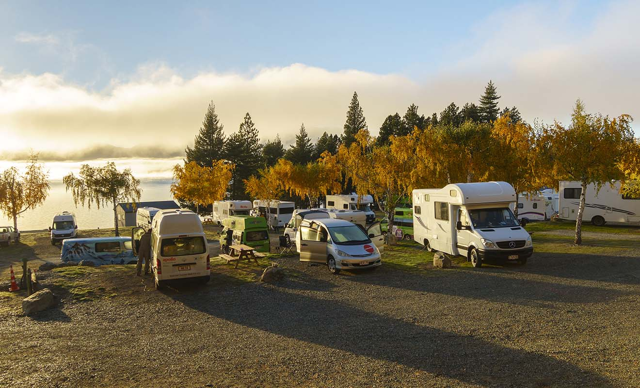 Votre voyage sera très différent selon que vous voyagez en voiture ou en camping-car (ou minivan).