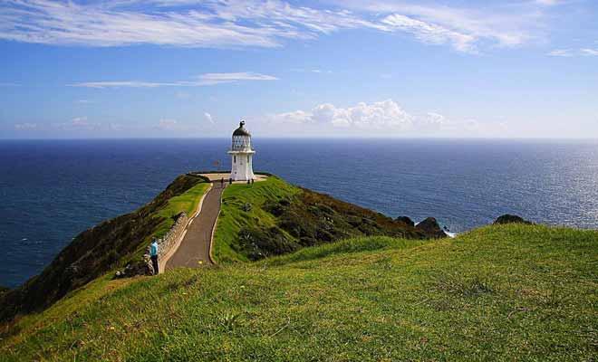 La pointe de l'île du Nord n'est pas habitée, mais le nombre de touristes est en augmentation constante depuis des années. On estime que le cap reçoit 400 visiteurs par jour.