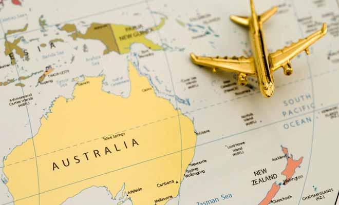Vous avez peut-être l'impression que l'Australie est proche de la Nouvelle-Zélande, mais les deux pays sont en réalité à 4800 km l'un de l'autre !