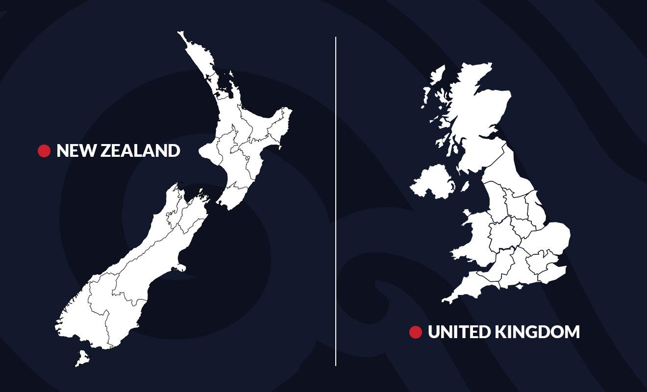 Parce que son territoire est tout en longueur, la Nouvelle-Zélande ne semble pas grande, mais elle aussi étendue que le Japon ou le Royaume-Uni.