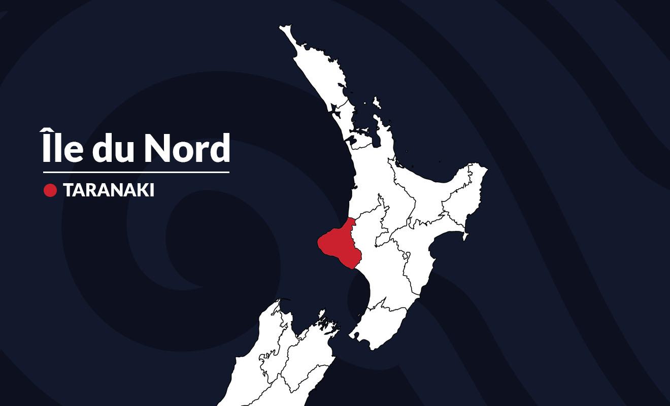 La région de Taranaki est surtout connue pour son volcan (toujours en activité) qui est visible de l'espace.