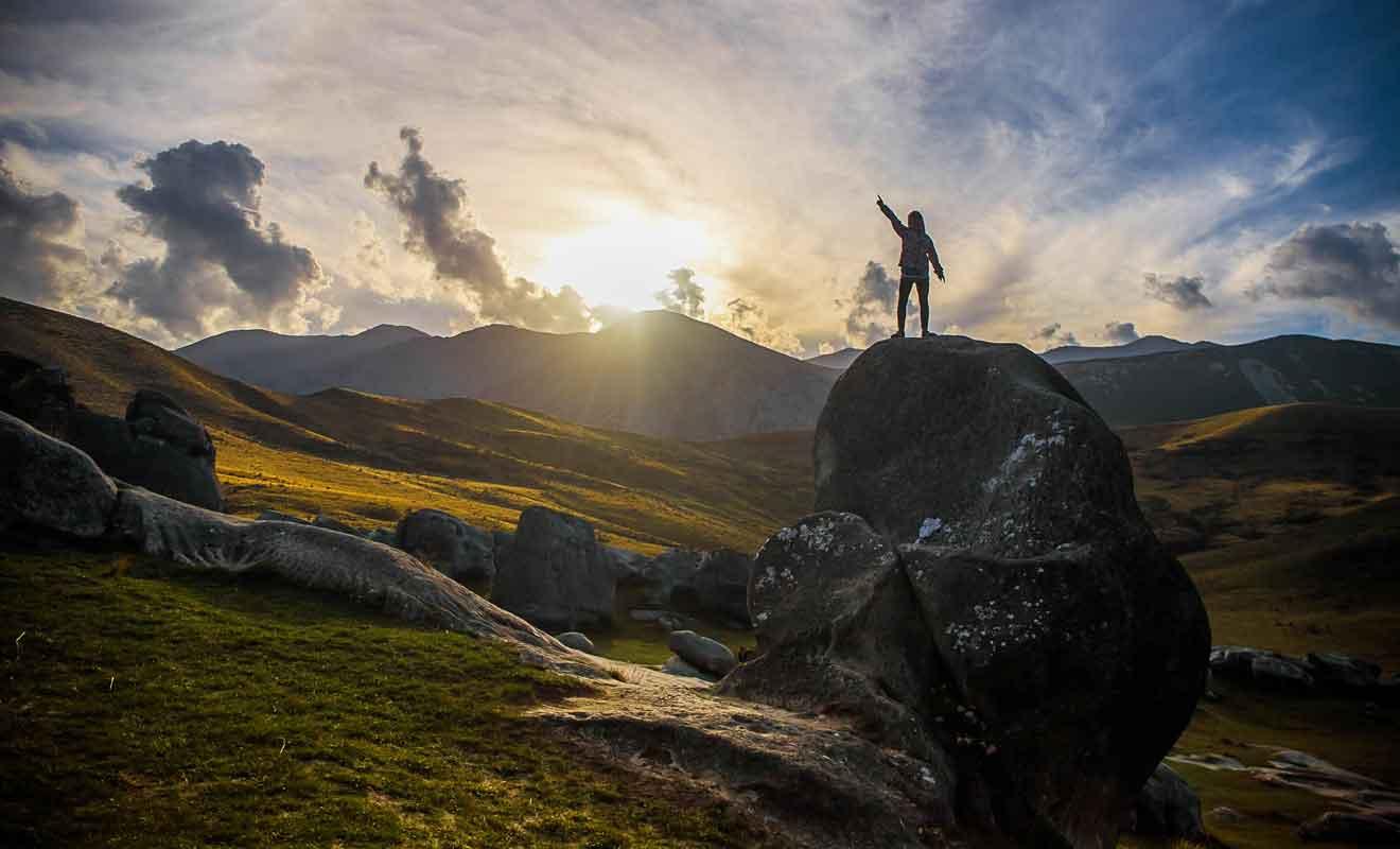 Le pays est célèbre pour ses formations rocheuses spectaculaires.