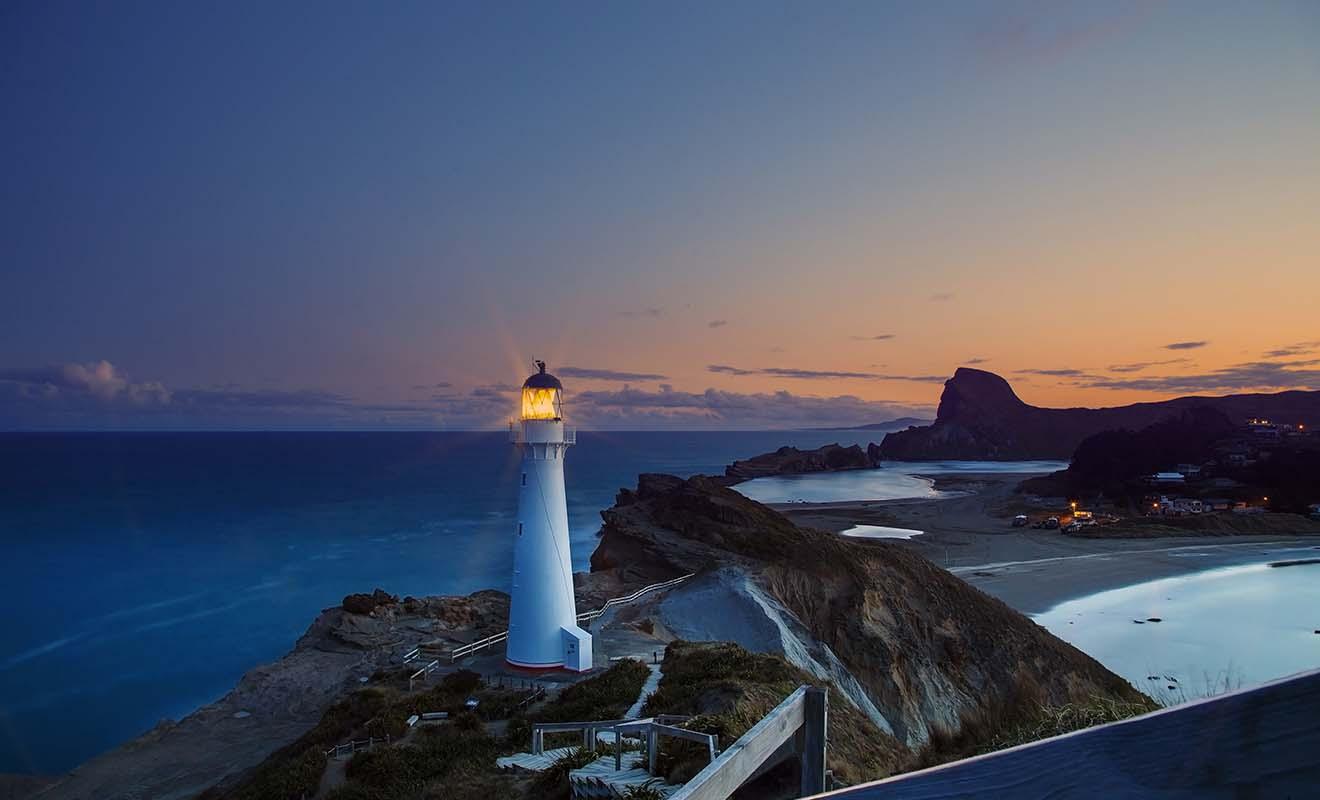 Le phare de Castlepoint est assez excentré par rapport à Wellington, et la plupart des touristes n'en ont jamais entendu parler.