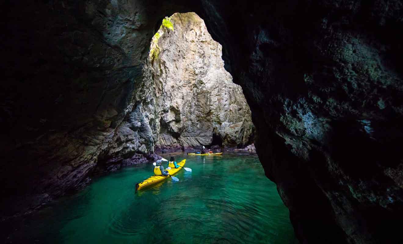 Cathedral Cove n'est pas la seule attraction de la région et toute la côte regorge de merveilles.