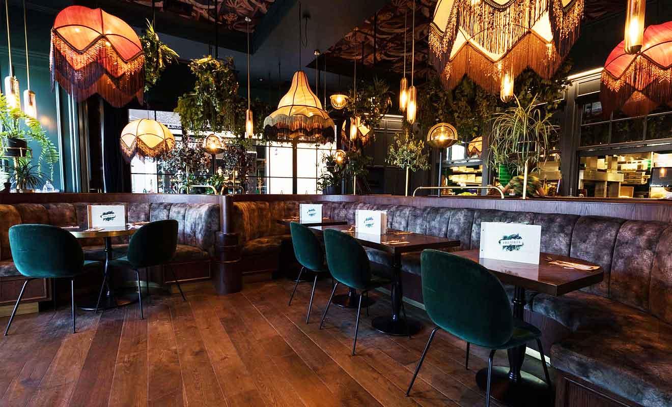 Même si le restaurant est d'excellente qualité, il est un peu cher et l'Amazonita est avant tout un bar pour s'amuser en soirée après avoir visité la ville.