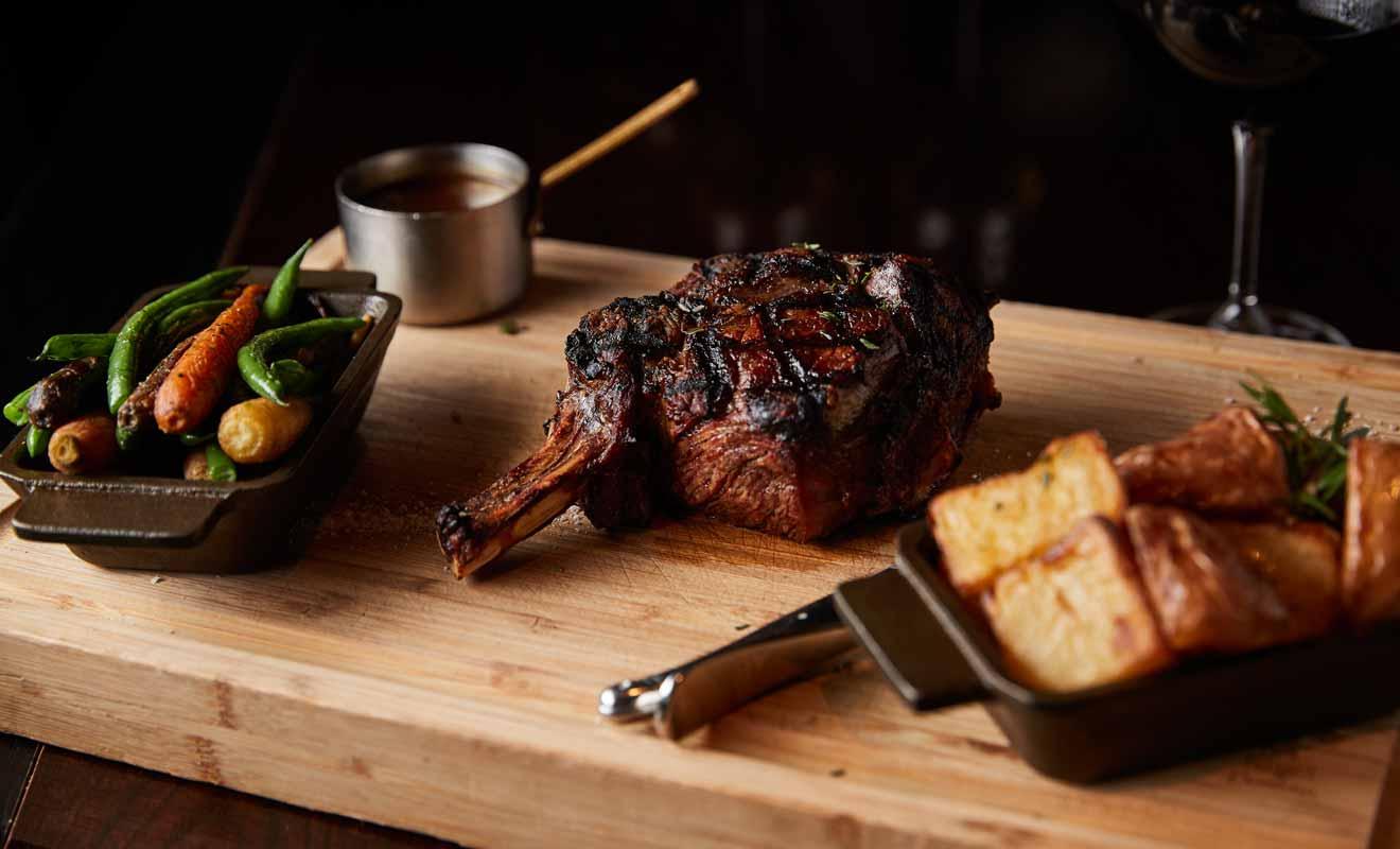 Certaines viandes servies au Bloody Mary's peuvent pratiquement se couper à la fourchette !