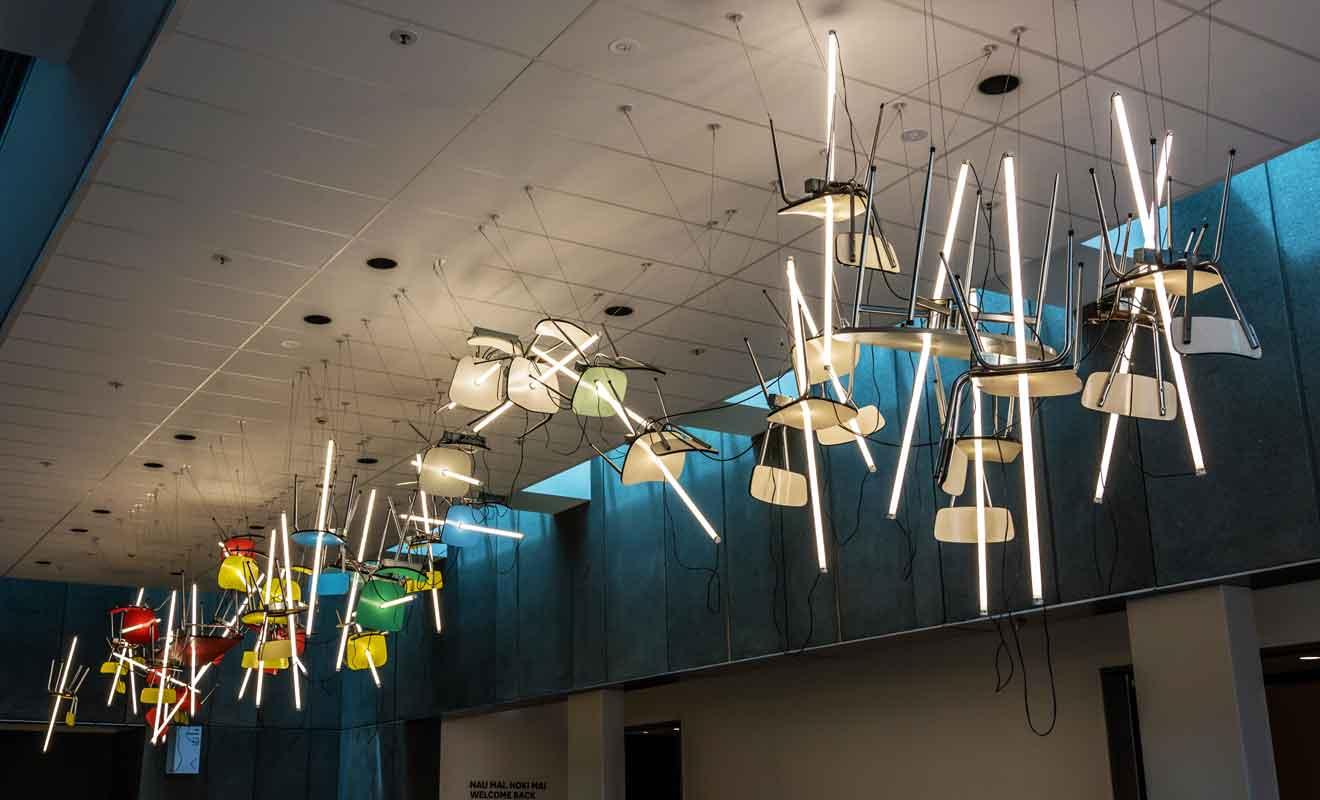 Les expositions se succèdent et ne sont pas nécessairement en rapport avec l'art contemporain, alors venez jeter un oeil à la programmation musée.