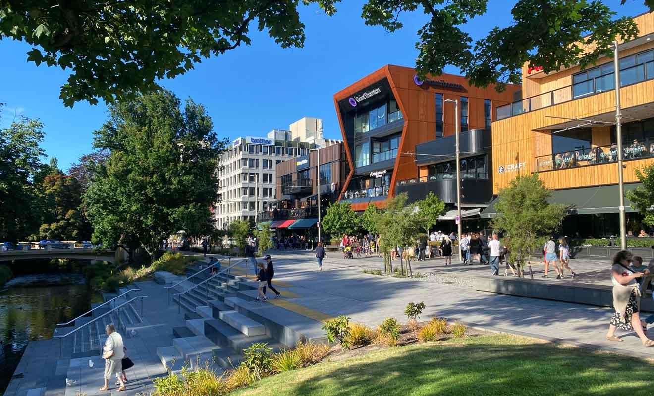 Achévé en 2017, The Terrace est le parfait exemple du renouveau de la ville.