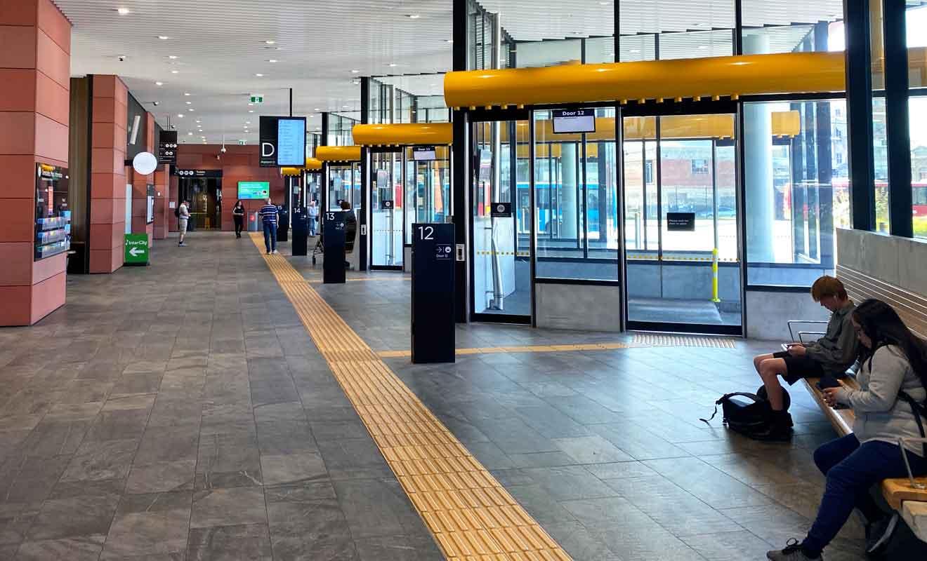 Le réseau de bus de Christchurch est particulièrement bien conçu et même les touristes étrangers s'y retrouvent facilement.