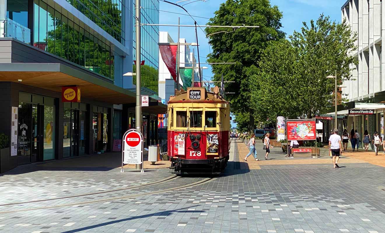 Impossible de visiter la ville sans prendre au moins une photo de l'omnibus.
