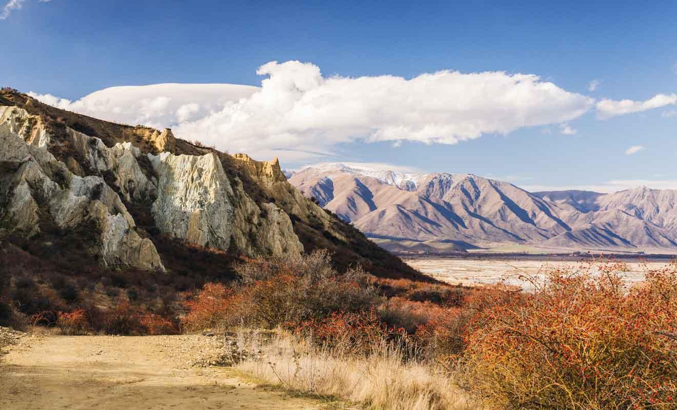 La région est marquée par une relative sécheresse, mais n'en est pas moins magnifique.