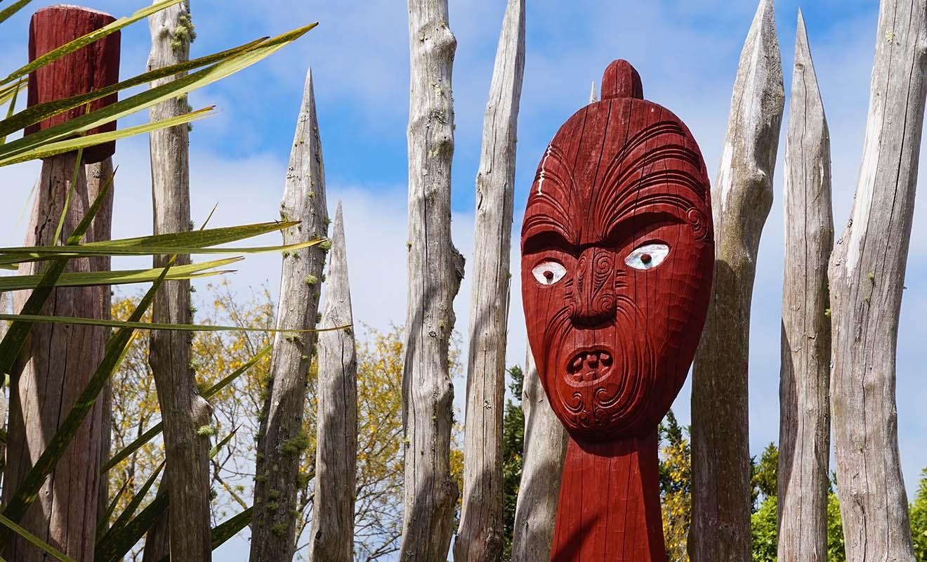 Les représentations maories sont plus présentes dans les régions ou la communauté maorie est plus importante, comme à Rotorua par exemple.