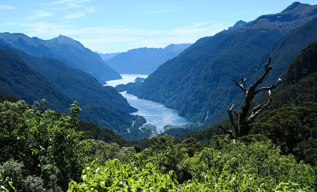Difficile d'accès, le Doubtful Sound est moins visité que le Milford Sound, mais il est plus sauvage et plus majestueux.