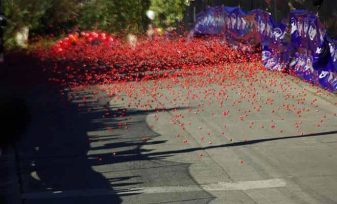 La « Jaffa Race » est un événement annuel qui se tient durant le festival du chocolat. Pour désigner les gagnants de la tombola, 30.000 bonbons jaffas numérotés sont déversés dans Baldwin St. Les premiers chocolats arrivés désignent les vainqueurs.
