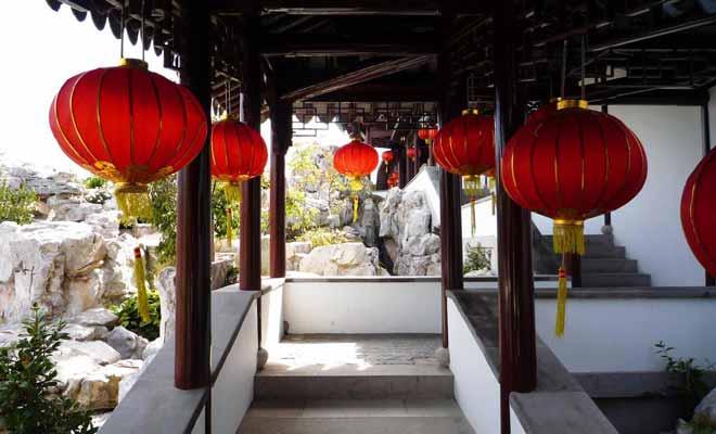 Dunedin célèbre le Nouvel An dans le Jardin chinois de la ville.