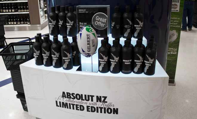 Unlike some other countries New Zealand does not reimburse VAT at the airport. Only the duty-free zone offers tax-free souvenir items.