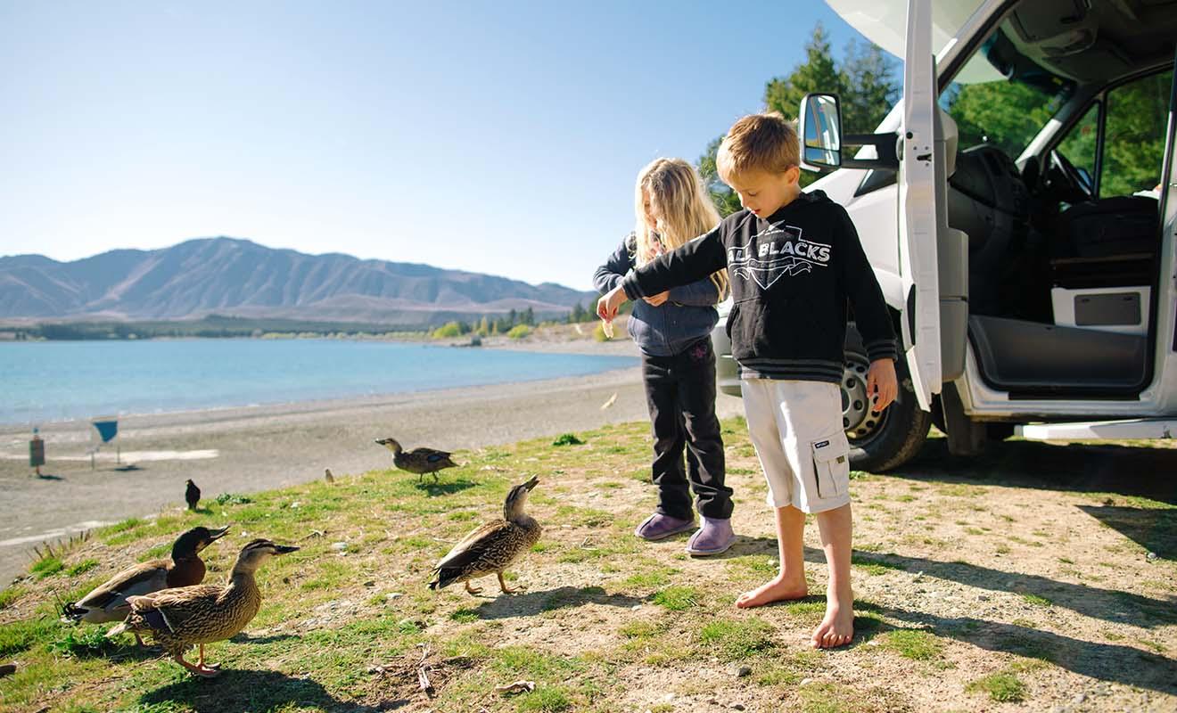 Le camping-car est comme une seconde maison pour les enfants mais aussi pour les bébés.