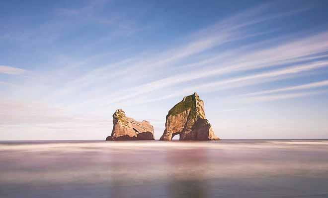 Vous pouvez vous retrouver sur une plage déserte, mais la civilisation n'est pas loin, ce qui est rassurant.