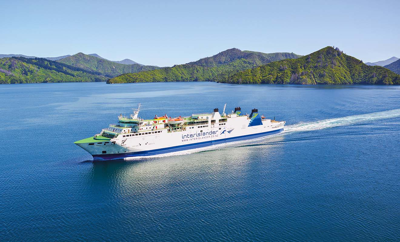 L'Aratere est le plus vieux ferry du pays, en service depuis les années 90, il affiche plus de 20.000 traversées au compteur.