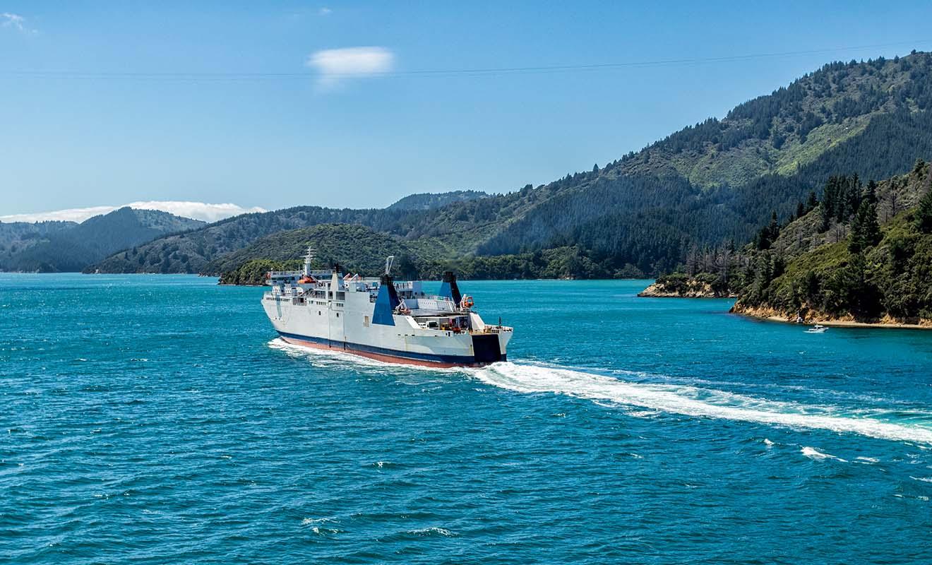 Kiwipal recommande Interislander car ses ferries sont plus confortables et un peu plus rapides à effectuer la traversée.
