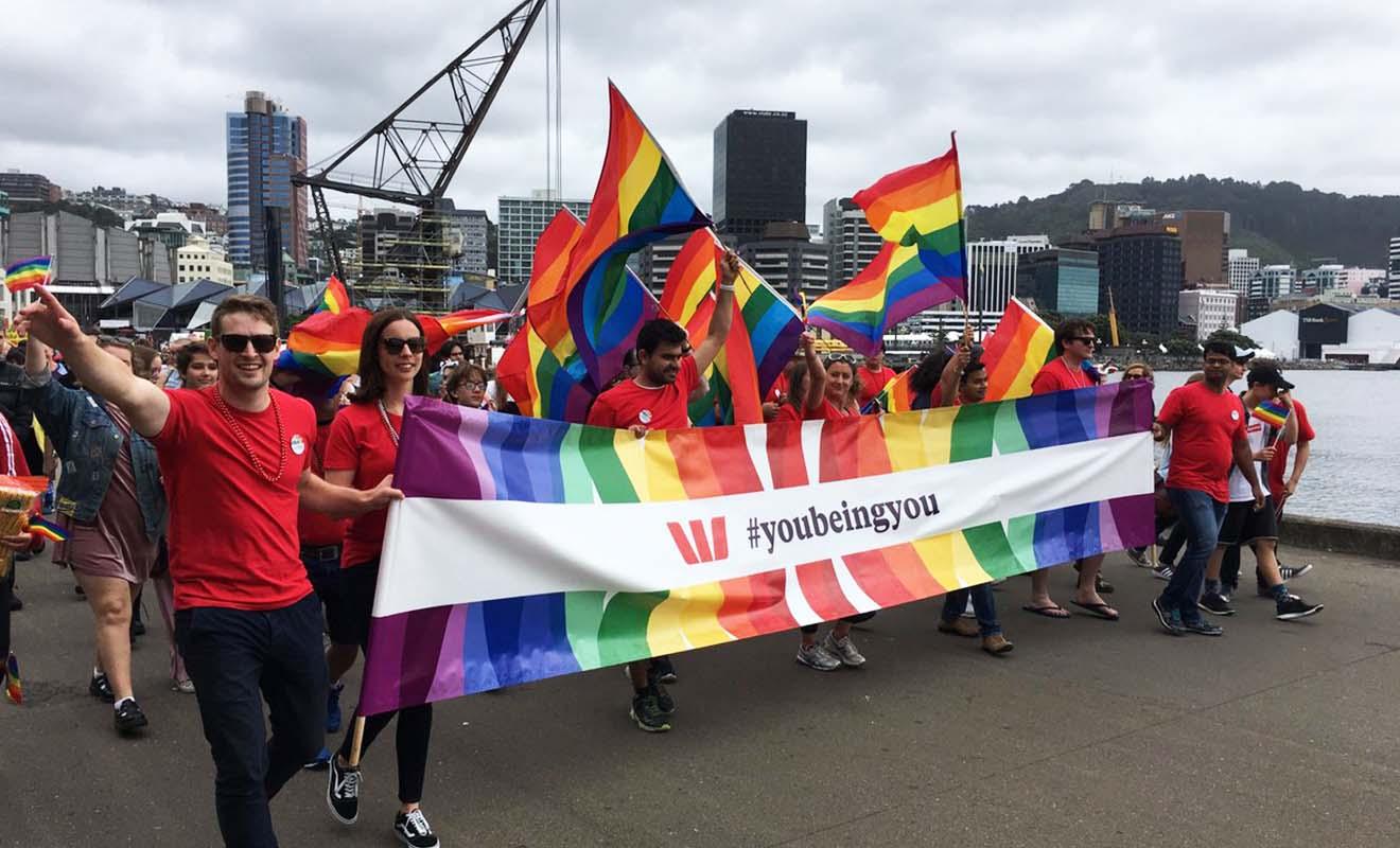 La capitale de Nouvelle-Zélande célèbre aussi la Gay Pride.